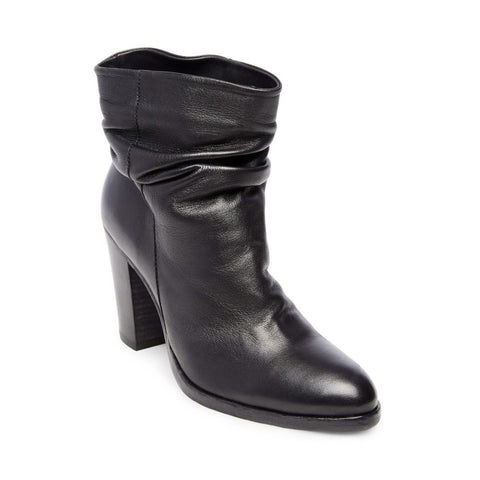 CYBILL BLACK LEATHER - Steve Madden