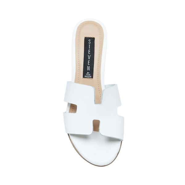 FOREVA WHITE LEATHER - Steve Madden