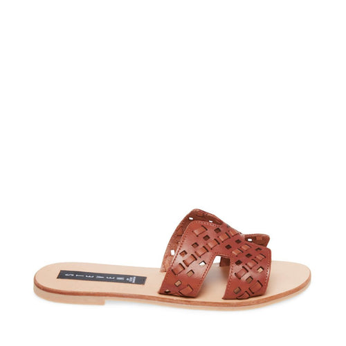 GREECE-W COGNAC LEATHER - Steve Madden