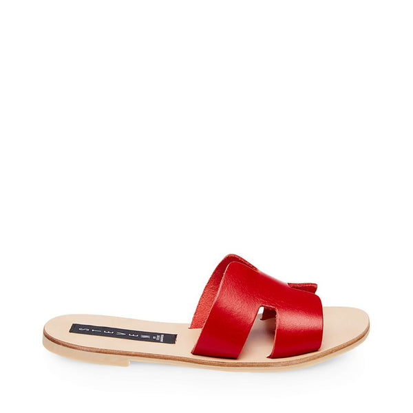 GREECE RED LEATHER - Steve Madden