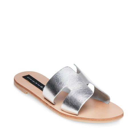 GREECE SILVER LEATHER - Steve Madden