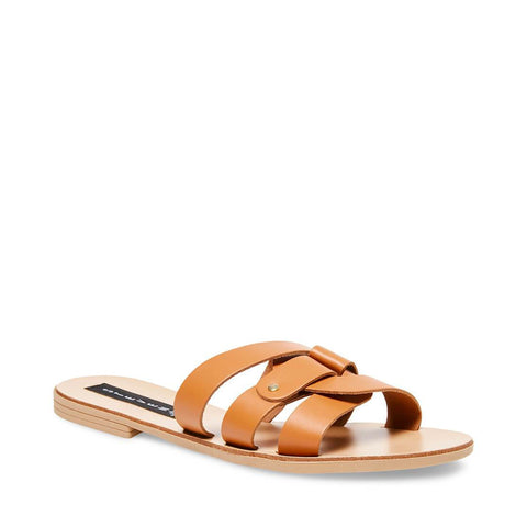 8a6fe44bf56 ... GRIMES COGNAC LEATHER - Steve Madden