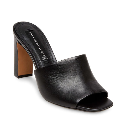 JENSEN BLACK LEATHER - Steve Madden