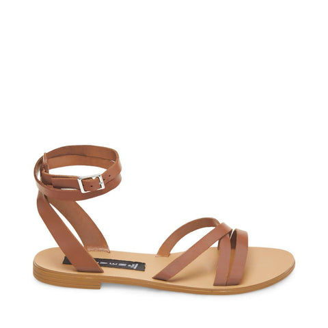 MATAS BROWN LEATHER - Steve Madden