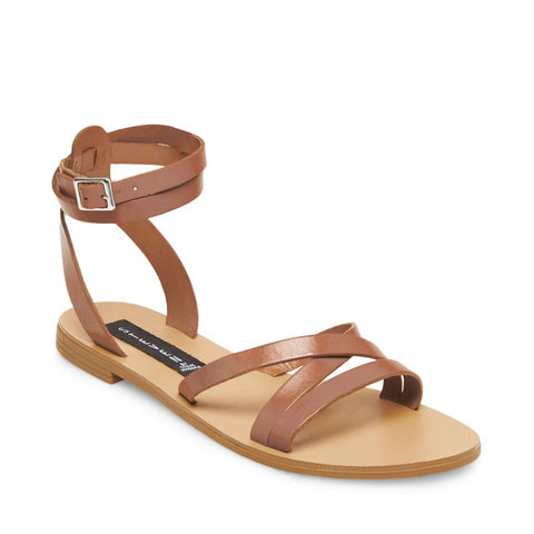 62549a704c3 ... MATAS BROWN LEATHER - Steve Madden