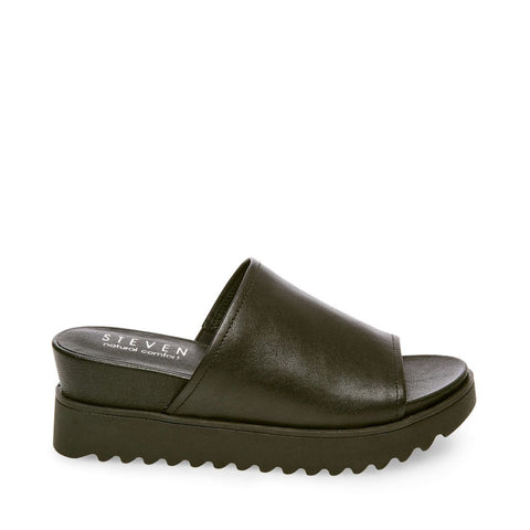 NC-KORE BLACK LEATHER - Steve Madden