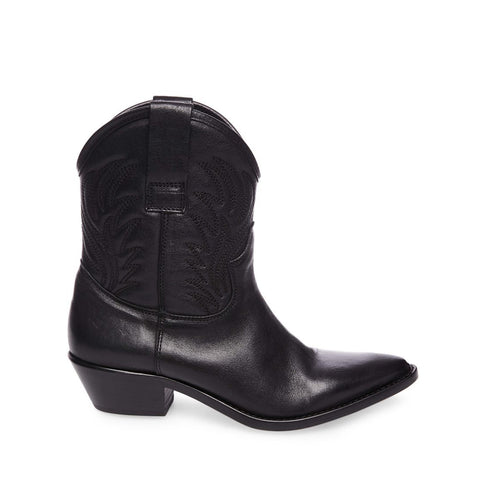 NOVE BLACK LEATHER - Steve Madden