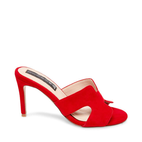 NYLAH RED SUEDE