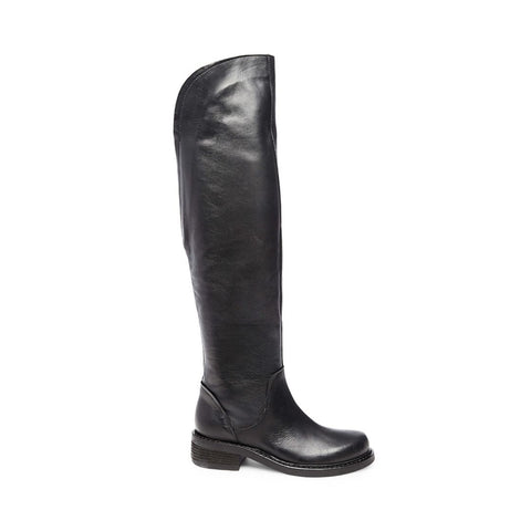 PASHA BLACK LEATHER - Steve Madden