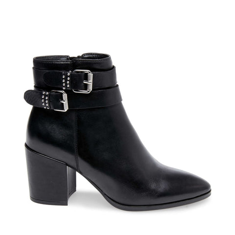 PEARLE BLACK LEATHER - Steve Madden