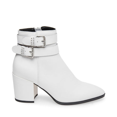PEARLE WHITE LEATHER - Steve Madden