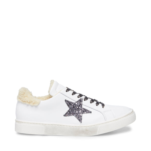WEDGE SNEAKERS WITH FUR   Steve Madden