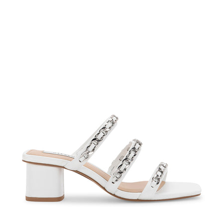 LINKS WHITE LEATHER