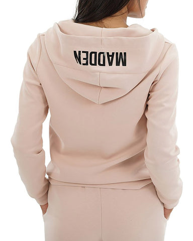 ZIP-UP SWEATSHIRT AND PANT SET PINK