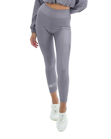 ACTIVE SHINY LEGGINGS GREY MULTI