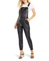 Gets The Jog Done Vegan Leather Overall