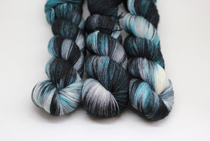Magpie - Fjord Sock - BFL Nylon High Twist
