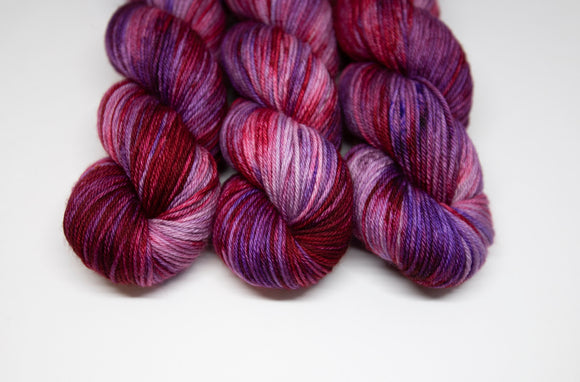 Purple Red Alert - Merino DK - Double Knit Weight