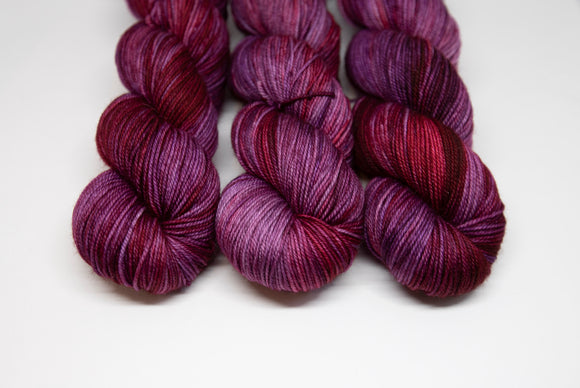 Purple Red Alert - Merino Sport - 100% Superwash Merino Sportweight