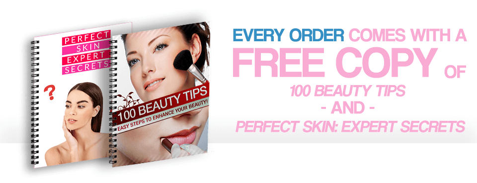 100 Beauty Tips & Perfect Skin Expert Secrets FREE eBooks