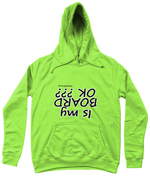 "Load image into Gallery viewer, Funky Yeti Women's Hoodie ""Is My Board OK?"""