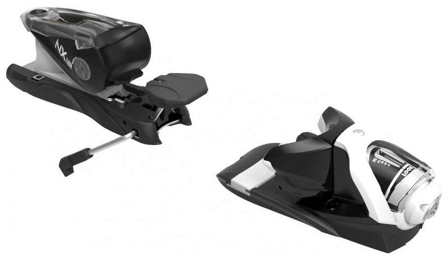 Look NX 12 Dual WTR Ski Bindings Black White
