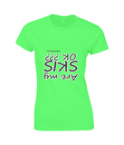 "Funky Yeti Women's T-Shirt ""Are My Skis OK?"""