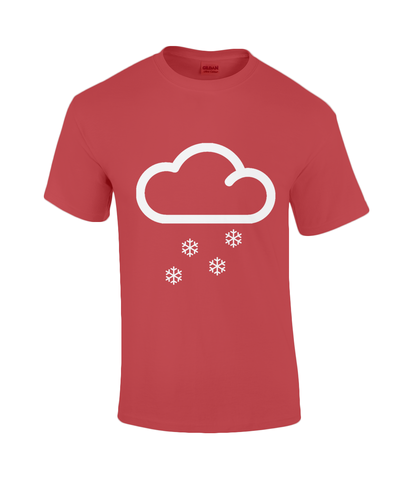 "Funky Yeti Men's T-Shirt ""Snow Cloud"""