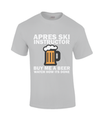 "Load image into Gallery viewer, Funky Yeti Men's T-Shirt ""Apres Ski Instructor"""