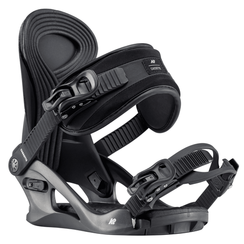 K2 Cassette Women's Snowboard Bindings (2020) Black