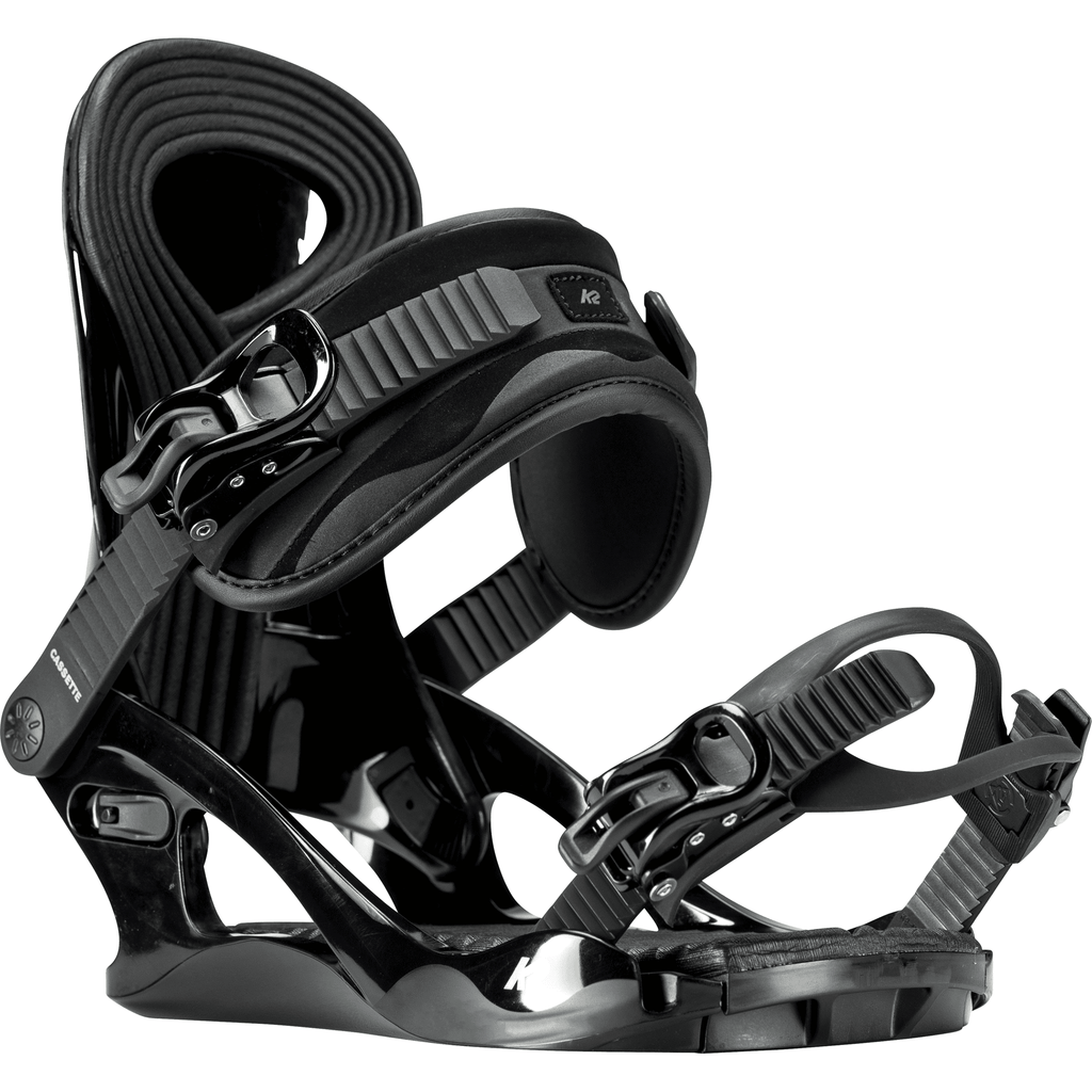 K2 Cassette Women's Snowboard Bindings (2019) Black