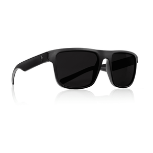 Dragon Inflector Sunglasses - Matte Black / Smoke