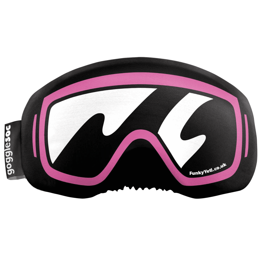 Gogglesoc - Funky Yeti Soc Pink Exclusive Goggle Cover