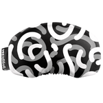 Load image into Gallery viewer, Gogglesoc - Greysacle Curves Soc Funky Yeti Exclusive Goggle Cover