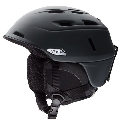Smith Camber Men's Ski / Snowboard Helmet (2019) Matte Black