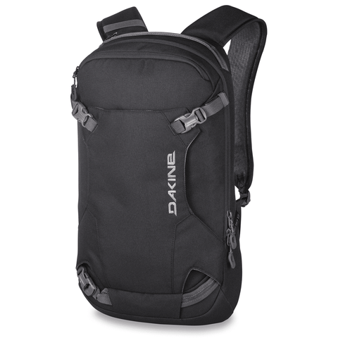 DaKine Heli Pack 12L Ski Snowboard Backpack Black