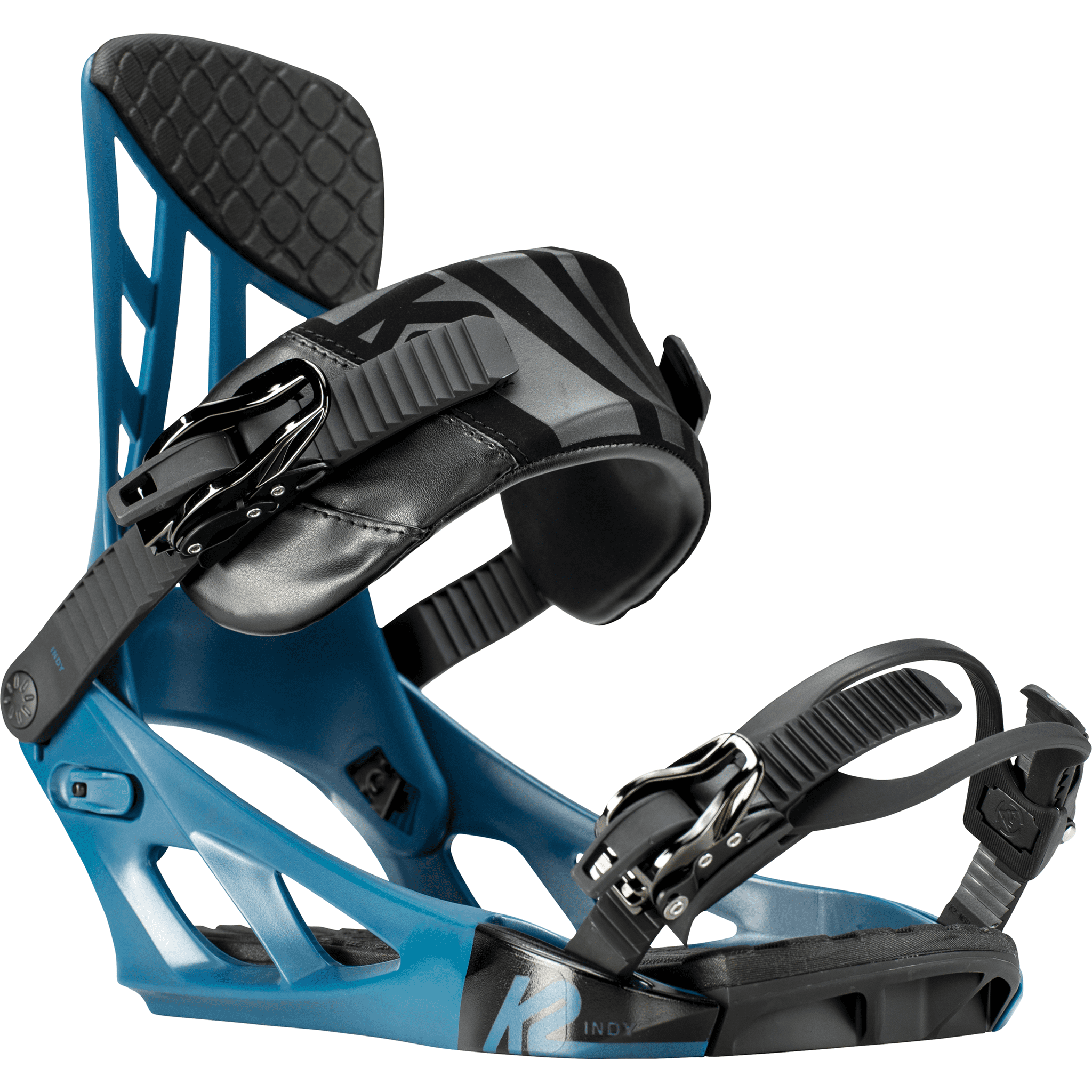 K2 Indy Snowboard Bindings (2019) Blue
