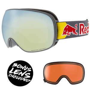 Red Bull Spect Magnetron Goggles - Grey / Yellow