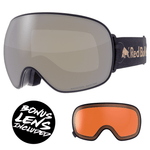 Load image into Gallery viewer, Red Bull Spect Magnetron Goggles - Black / Frozen Gold