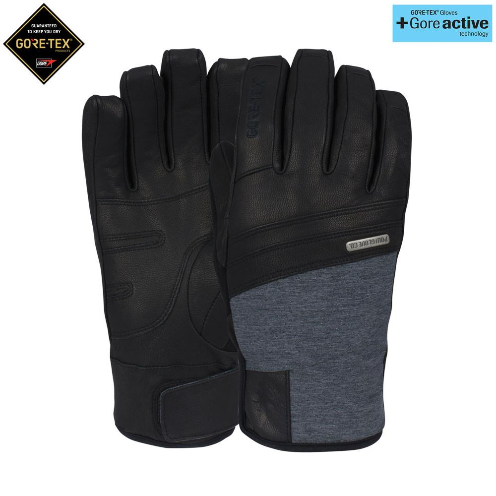 POW Royal GTX Ski / Snowboard Glove Black