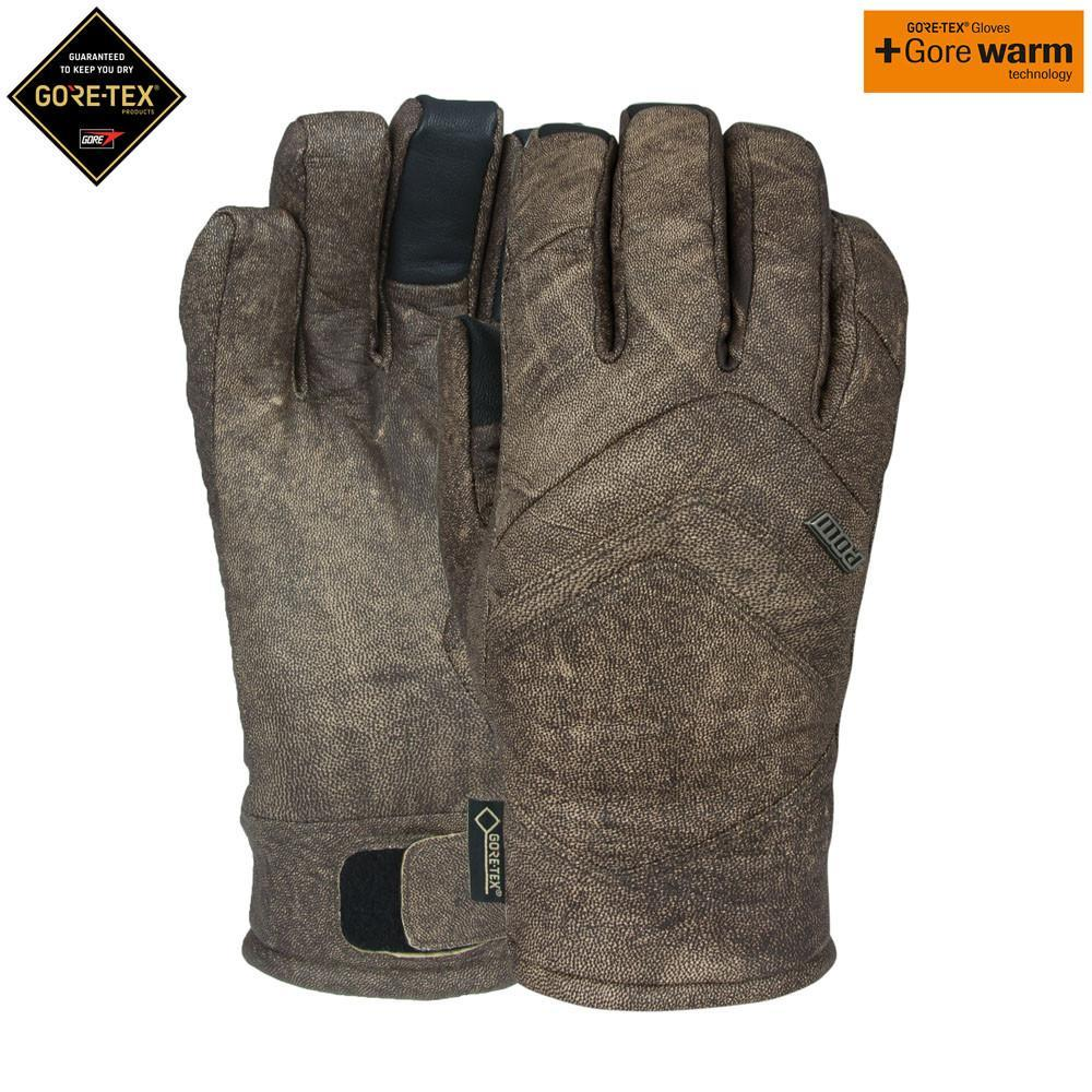 POW Stealth GTX Ski Snowboard Glove Distressed