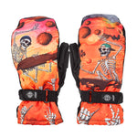Load image into Gallery viewer, POW Handicrafter Ski / Snowboard Mittens Lava