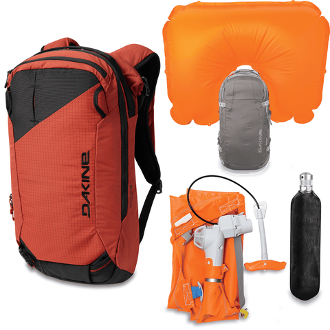 Dakine Poacher RAS 18L Avalanche Airbag Backpack Kit - Tandoori Spice