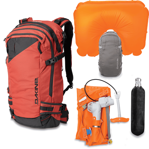 Dakine Poacher RAS 26L Avalanche Airbag Backpack Kit - Tandoori Spice