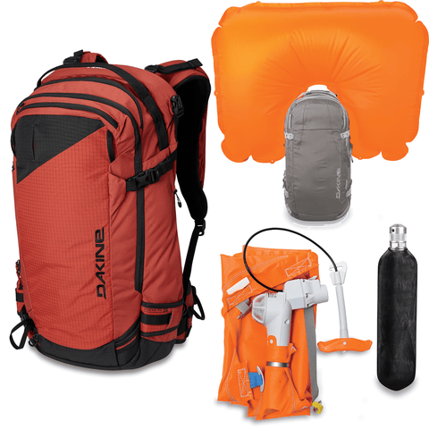 Dakine Poacher RAS 36L Avalanche Airbag Backpack Kit