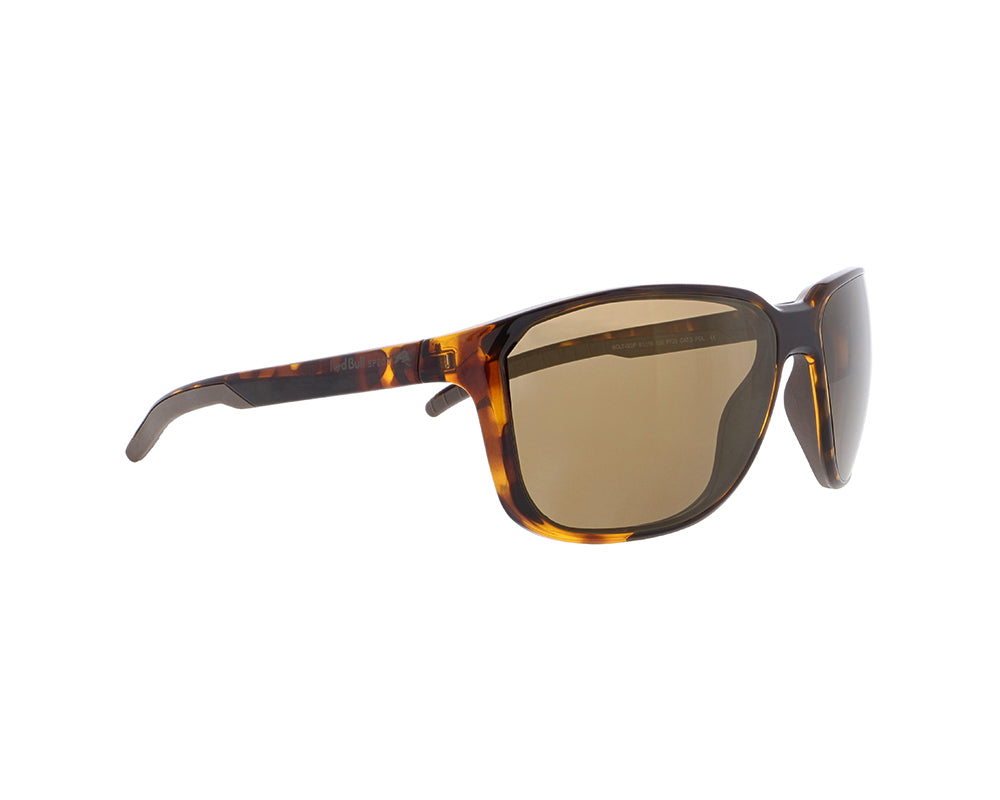 Red Bull Spect Sunglasses - BOLT Havanna / Brown With Light Bronze Mirror Polarized