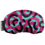 Load image into Gallery viewer, Gogglesoc - Retro Curves Soc Funky Yeti Exclusive Goggle Cover
