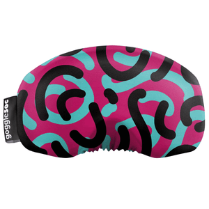 Gogglesoc - Retro Curves Soc Funky Yeti Exclusive Goggle Cover