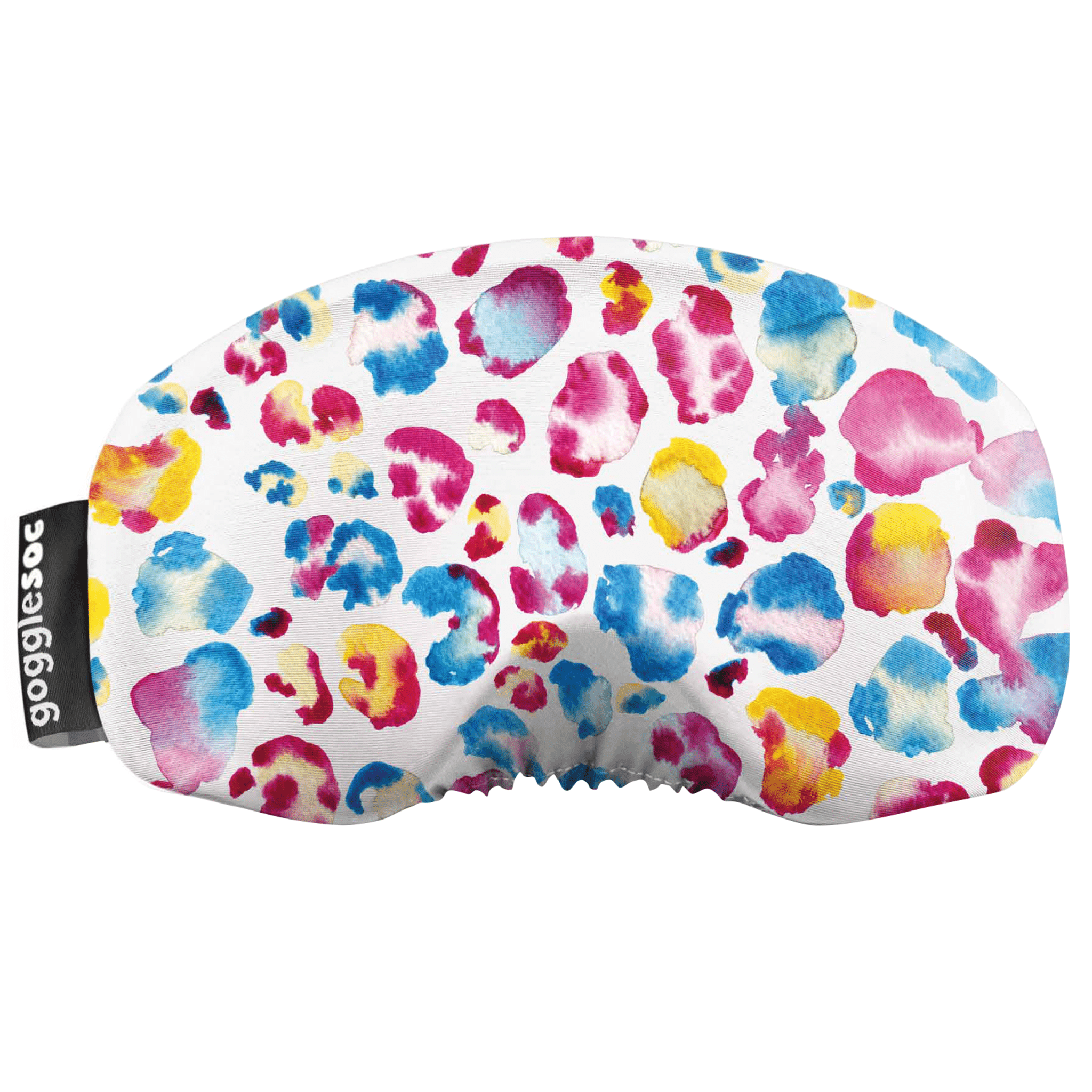Gogglesoc - Watercolour Leopard Soc Funky Yeti Exclusive Goggle Cover