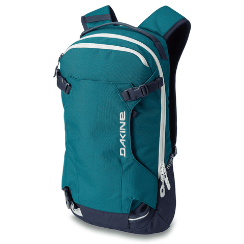 DaKine Women's Heli Pack 12L Ski Snowboard Backpack Deep Teal